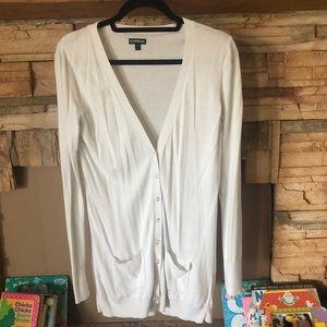 White express cardigan